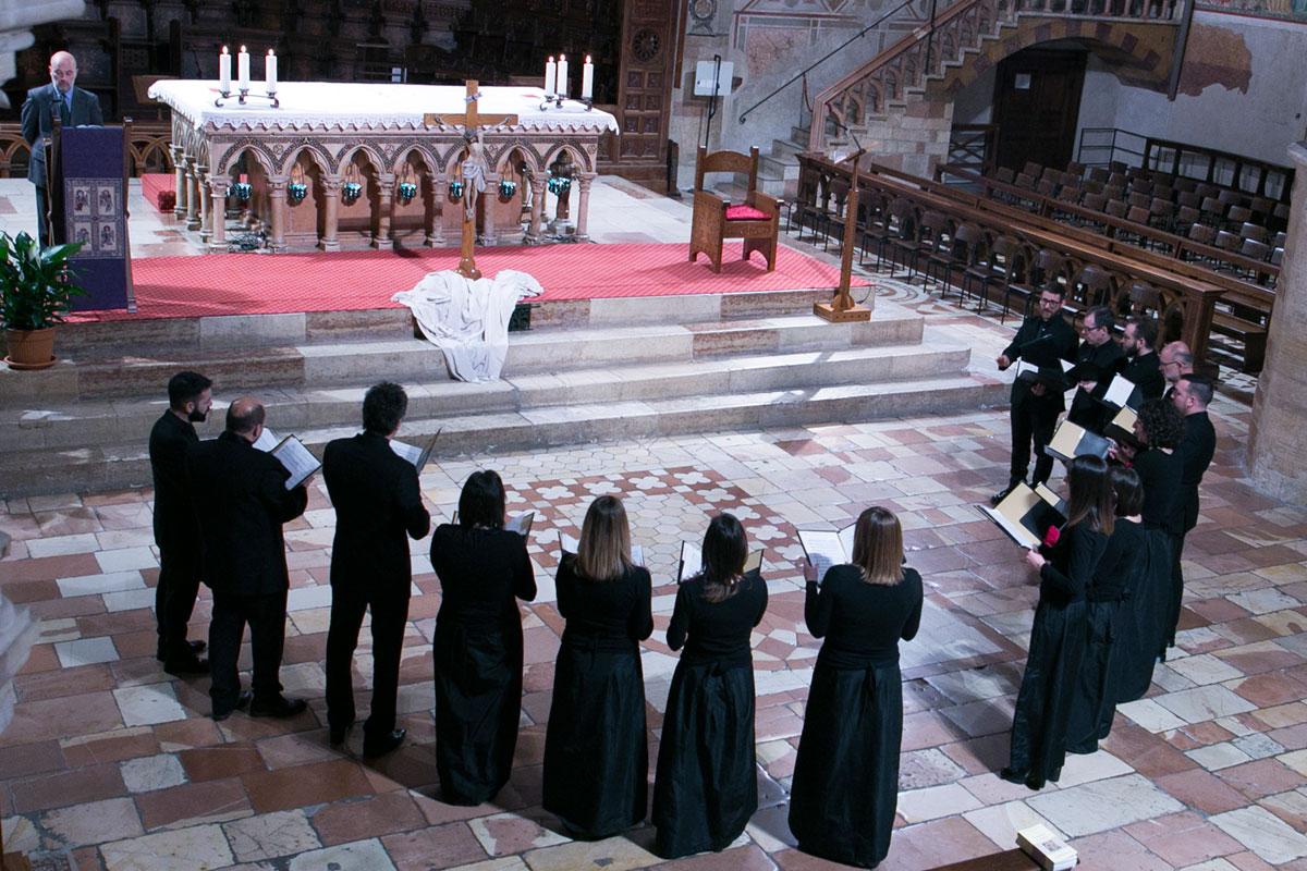 Sacrae Passionis Concentus 2019 – Schola Cantorum Anton Maria Abbatini