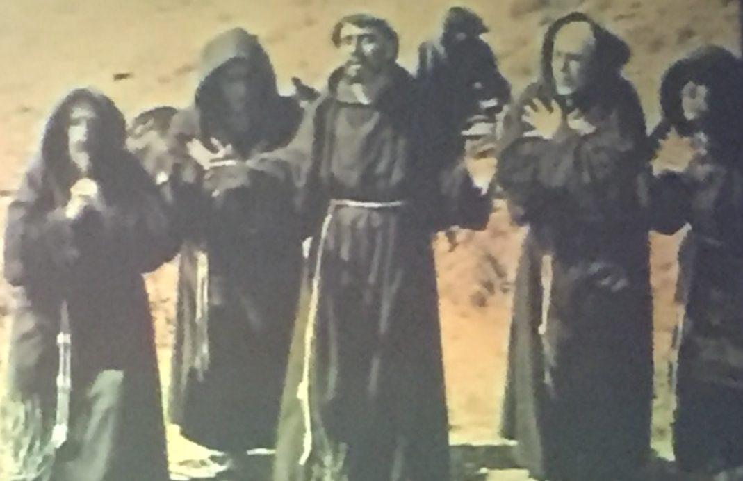 Frate Sole, proiezione al teatro Lyrick