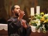 """Concerto """"Francesco è vivo"""" con fra Alessandro Brusteghi; Italia, Umbria, Perugia, Assisi, Basilica di San Francesco in Assisi, Chiesa superiore"""