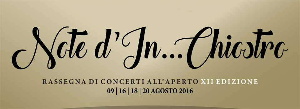 Note d'in…chiostro 2016