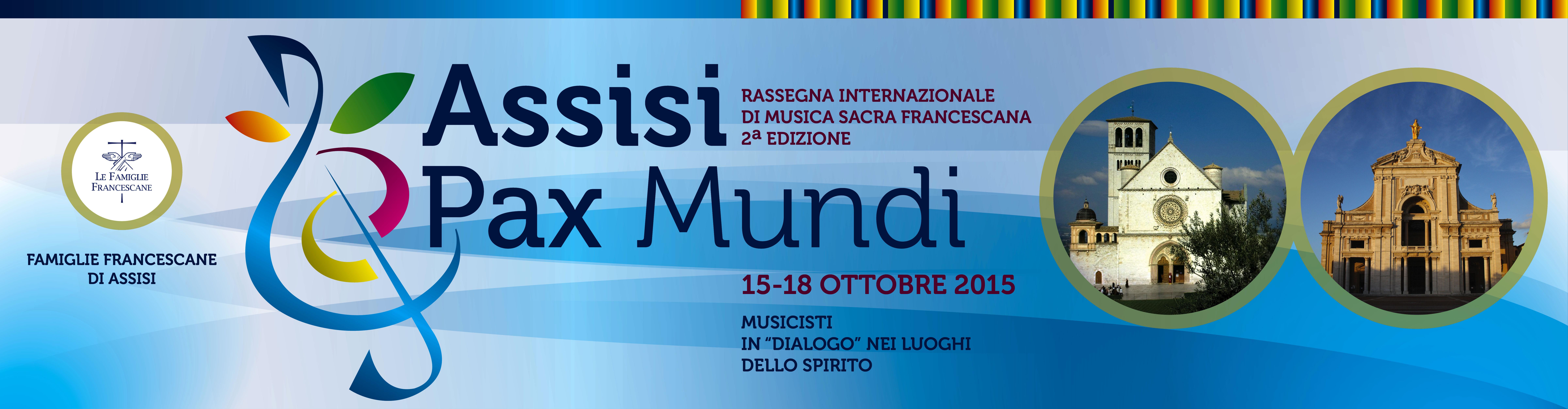 Assisi Pax Mundi 2015