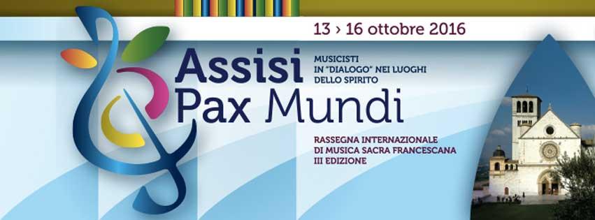 Assisi Pax Mundi 2016