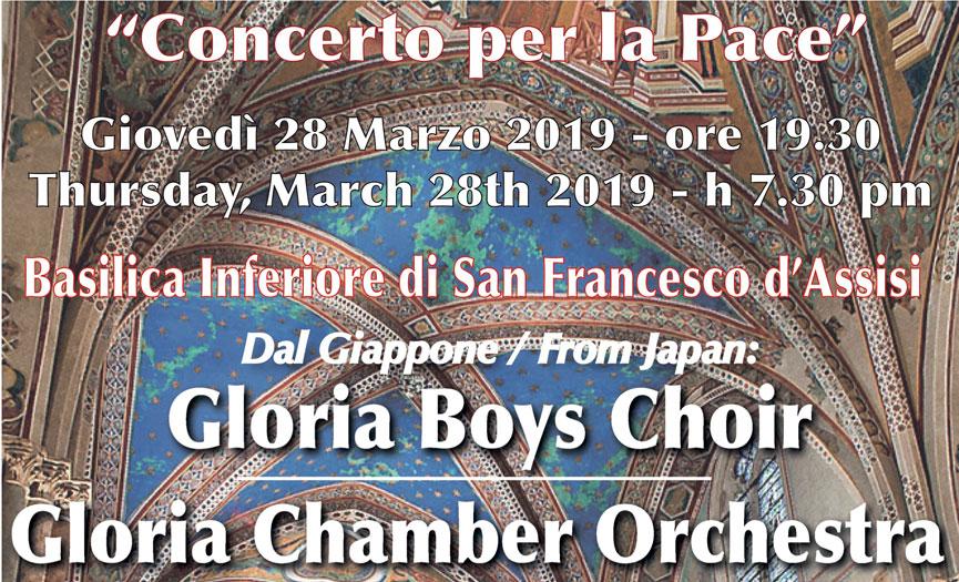 """Gloria Boys"" dal Giappone ad Assisi"