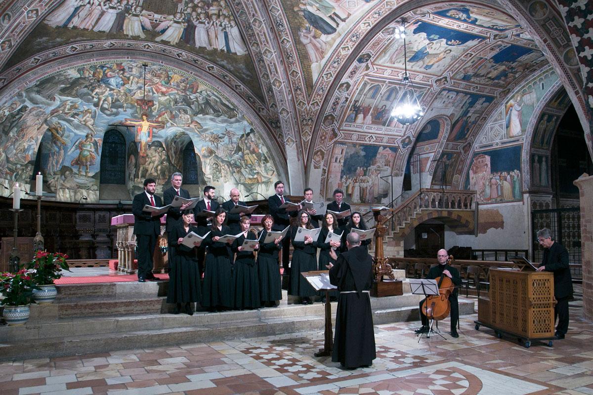 Sacrae Passionis Concentus 2017 – Cappella Musicale Basilica Papale San Francesco