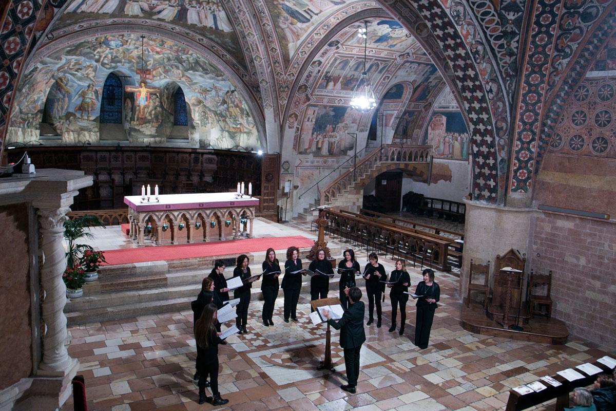 Sacrae Passionis Concentus 2017 – Ensemble Femminile de I Cantori del Borgo