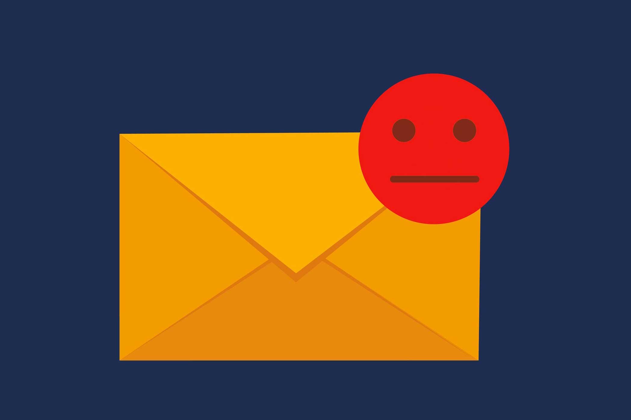 Email non funzionante