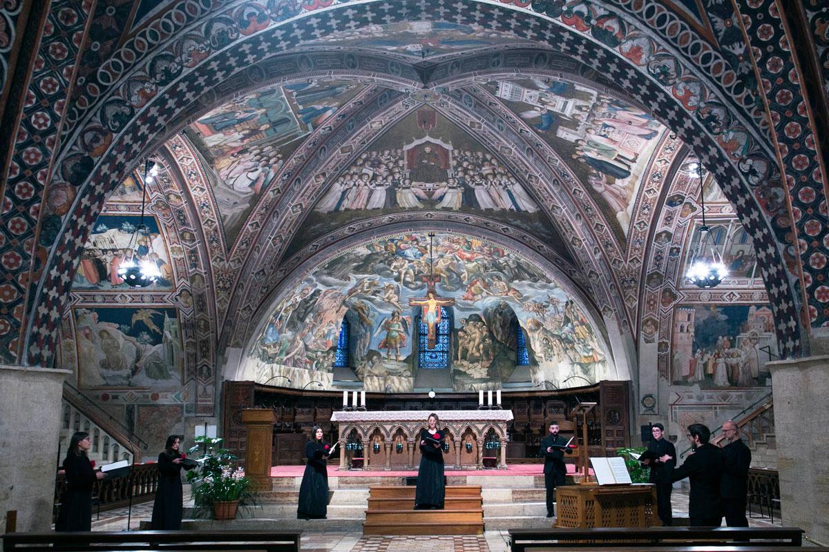 Sacræ Passionis Concentus 2021 – Schola Cantorum A. M. Abbatini
